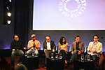 """Guiding Light's Matt Bomer """"Ben Reade"""" and now """"Neal Caffrey on USA's White Collar and cast: (L to R) Jeff King - co-executive producer, Sharif Atkins """"Jones"""", Willie Garson """"Mozzie"""", Marsha Thomason """"Diana"""", Tim DeKay """"Peter Burke"""" were a part of White Collar Comes Clean at the Paley Center for Media, New York City, NY on June 7, 2010. (Photo by Sue Coflikn/Max Photos)"""