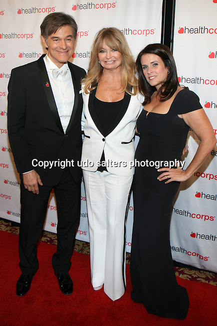 HealthCorps Annual Gala 2014: The Savory Garden Gala Honoring Ms. Goldie Hawn, Academy Award Winning Actress, Author &amp; Founder, The Hawn Foundation, Ms. Gloria Steinem, Feminist Writer and Activist and The California Endowment Held at  	<br />
