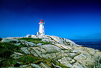 Peggy's Cove Lighthouse, near Halifax, Nova Scotia, Canada
