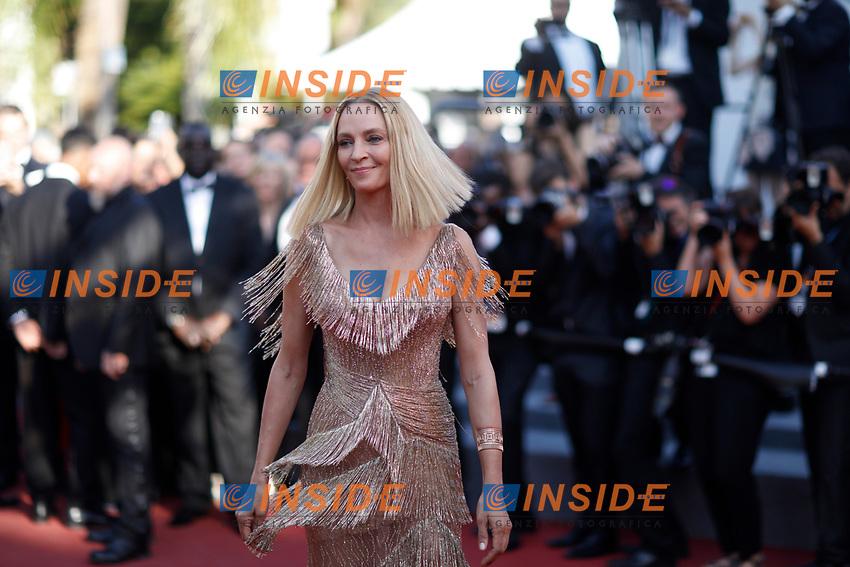 Uma Thurman<br /> 28-05-2017 Cannes <br /> 70ma edizione Festival del Cinema <br /> Awards night . Serata Finale <br /> Foto Panoramic/Insidefoto