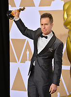 Sam Rockwell at the 90th Academy Awards Awards at the Dolby Theartre, Hollywood, USA 04 March 2018<br /> Picture: Paul Smith/Featureflash/SilverHub 0208 004 5359 sales@silverhubmedia.com