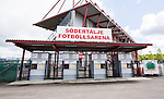 S&ouml;dert&auml;lje 2014-05-31 Fotboll Superettan Syrianska FC - &Auml;ngelholms FF :  <br /> Huvudentr&eacute;n p&aring; S&ouml;dert&auml;lje Fotbollarena<br /> (Foto: Kenta J&ouml;nsson) Nyckelord:  Syrianska SFC S&ouml;dert&auml;lje Fotbollsarena &Auml;ngelholm &Auml;FF utomhus exteri&ouml;r exterior