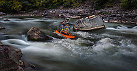 Ken Hoeve, Hobie, Jackson, Kayak, Super Charger, SUP, Stand UP paddle board, Shoshone, Colorado River, Glenwood Canyon,