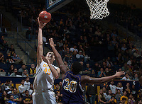 Berkeley, Calif. - November 14, 2014: California defeated Alcorn State 91-57 in a NCAA basketball game at Haas Pavilion.