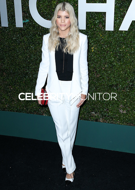 BEVERLY HILLS, CA, USA - OCTOBER 02: Sofia Richie arrives at Michael Kors Launch Of Claiborne Swanson Franks's 'Young Hollywood' Book held at a Private Residence on October 2, 2014 in Beverly Hills, California, United States. (Photo by Xavier Collin/Celebrity Monitor)