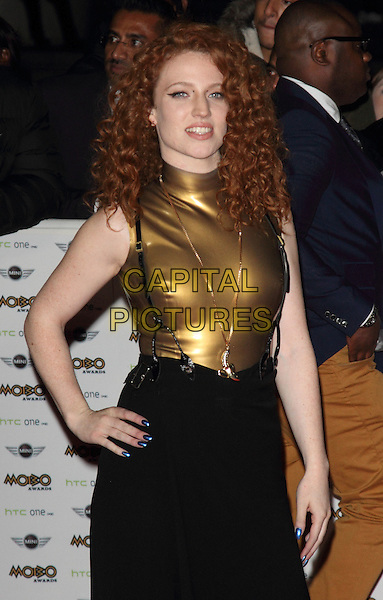 LONDON, ENGLAND - OCTOBER 22: Jess Glynne attends the MOBO Awards at SSE Arena on October 22, 2014 in London, England. <br /> CAP/ROS<br /> &copy;Steve Ross/Capital Pictures