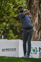 Kyle Stanley (USA) watches his tee shot on 16 during round 3 of the World Golf Championships, Mexico, Club De Golf Chapultepec, Mexico City, Mexico. 2/23/2019.<br /> Picture: Golffile | Ken Murray<br /> <br /> <br /> All photo usage must carry mandatory copyright credit (© Golffile | Ken Murray)