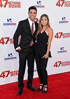 Santiago Segura &amp; Guest at the Los Angeles premiere for &quot;47 Meters Down&quot; at the Regency Village Theatre, Westwood. <br /> Los Angeles, USA 12 June  2017<br /> Picture: Paul Smith/Featureflash/SilverHub 0208 004 5359 sales@silverhubmedia.com