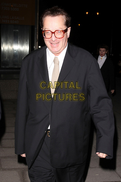 MAURICE SAATCHI .At the Evening Standard Influentials Party, Altitude 360, Millbank Tower, London, England, UK, .16th November 2010..half length glasses black jacket tie coat beige tie white shirt .CAP/AH.©Adam Houghton/Capital Pictures.