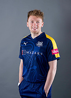 Picture by Allan McKenzie/SWpix.com - 02/04/2018 - Cricket - Yorkshire County Cricket Club Media Day 2018 - Headingley Cricket Ground, Leeds, England - Ed Barnes.
