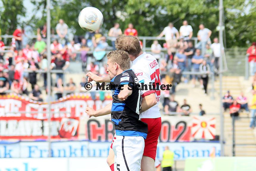 Manuel Konrad (FSV) gegen Erik Jendrisek (Cottbus) - FSV Frankfurt vs. FC Energie Cottbus, Frankfurter Volksbank Stadion