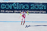 Audi FIS Ski World Cup Ladies Super-G at in Cortina d'Ampezzo, on January 29, 2017. Slovenia's Ilka Stuhec wins ahead of Italy's Sofia Goggia, Anna Veith from Austria is third. The new boy friend of Lindsey Vonn, Kenan Smith, Los Angeles Rams (NFL) assistant was there. Pictured: Mikaela Shiffrin