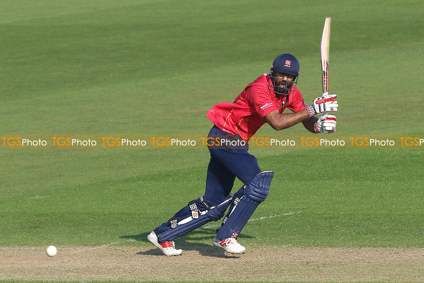 Varun Chopra hits four runs for Essex during Glamorgan vs Essex Eagles, Royal London One-Day Cup Cricket at the SSE SWALEC Stadium on 7th May 2017