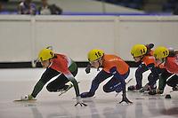 SCHAATSEN: HEERENVEEN: 31-08-2013, Thialf IJsstadion Thialf, Shorttrack Invitation Cup, ©foto Martin de Jong