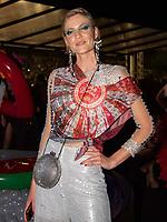 SÃO PAULO, SP, 03.03.2019 - CARNAVAL-SP - Bárbara Berger, no Camarote Brahma durante Desfile das campeãs, do grupo especial do Carnaval de São Paulo, no Sambódromo do Anhembi em Sao Paulo, na madrugada deste Sábado, 08.(Foto: Bruna Grassi/Brazil Photo Press)