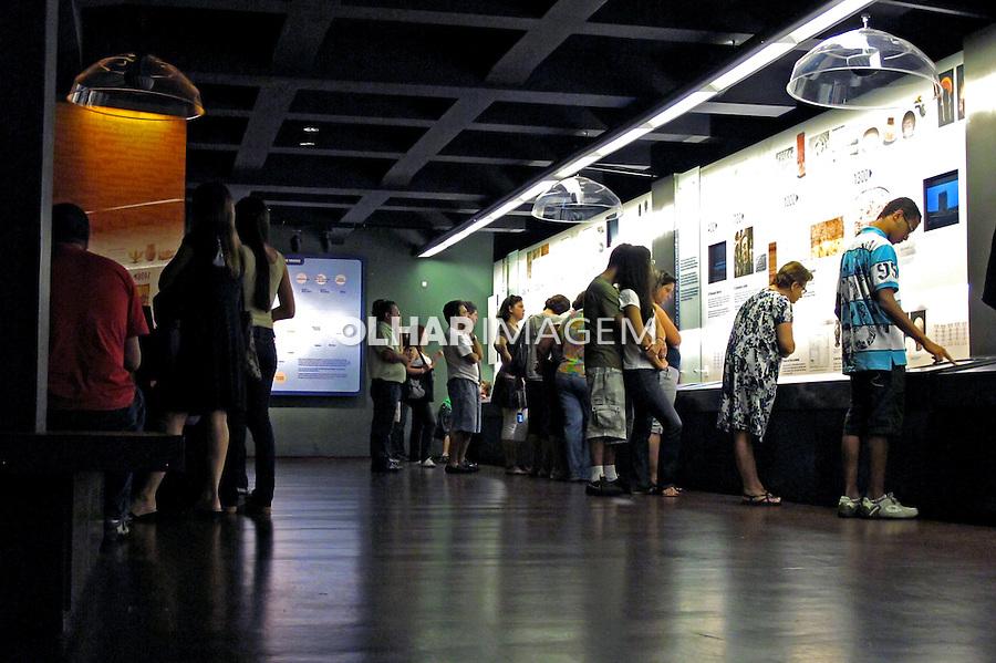 Museu da Língua Portuguêsa. São Paulo. 2010. Foto de Juca Martins.