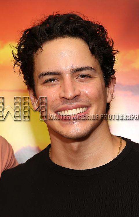 "Jacob Dickey attends the Broadway screening of the Motion Picture Release of ""The Lion King"" at AMC Empire 25 on July 15, 2019 in New York City."