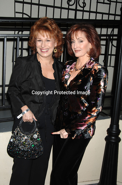 Joy Behar and Robin Strasser..at ABC Casino Night at Pier Sixty on October 26, 2006. ..Robin Platzer, Twin Images