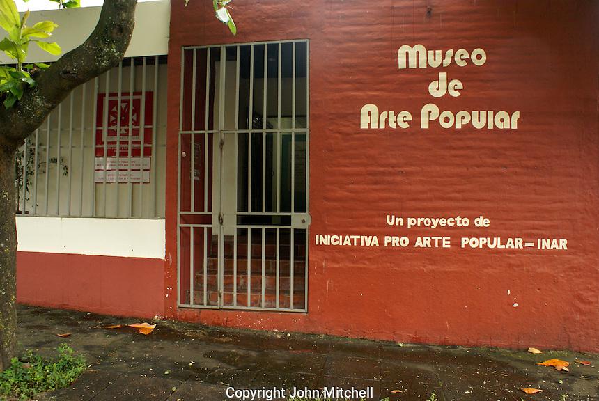 The Museo de Arte Popular or Museum of Popular Art in San Salvador, El Salvador