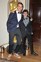 Timo von Gunten and Giacun Caduff at the Academy of Motioon Pictures Arts &amp; Sciences new member party, Spencer House, St James Place, London, England, UK, on Thursday 05 October 2017.<br /> CAP/CAN<br /> &copy;CAN/Capital Pictures