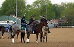 04-17-19 Mott Derby Horses at Churchill Downs