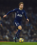 Christian Eriksen of Tottenham Hotspur during the premier league match at the Etihad Stadium, Manchester. Picture date 16th December 2017. Picture credit should read: Robin ParkerSportimage
