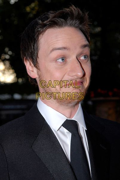 "JAMES McAVOY .Attending the UK Film premiere of ""Atonement"", The Odeon, Leicester Square, London, England..September 4th 2007.headshot portrait beard stubble facial hair funny face .CAP/IA.©Ian Allis/Capital Pictures"