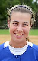 GLENSIDE, PA - MAY 29:  Conwell-Egan's MacKenzie Purr, athlete of the week is photographed after the District 12 Class AA softball championship May 29, 2014 at Arcadia University in Glenside, Pennsylvania. Conwell-Egan defeated Swenson 15-0. (Photo by William Thomas Cain/Cain Images)