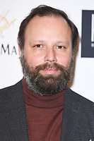 LONDON, UK. January 20, 2019: Yorgos Lanthimos arriving for the London Critics' Circle Film Awards 2019 at the Mayfair Hotel, London.<br /> Picture: Steve Vas/Featureflash