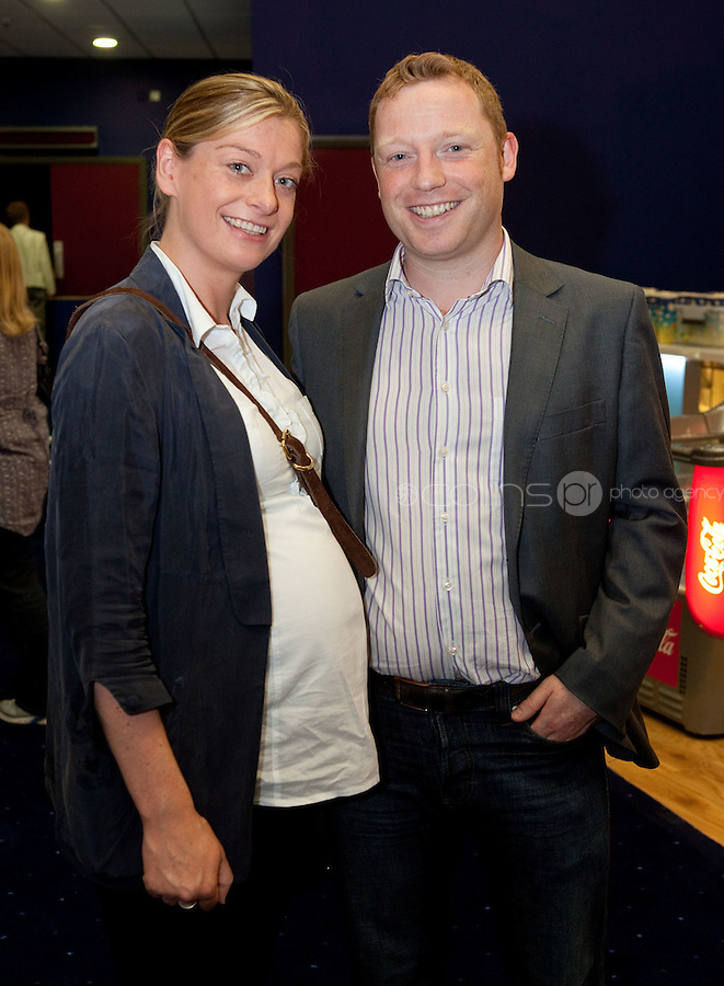 15/7/2011. Aoife Mc Cann and Robert Finn are pictured at the opening of UCI Stillorgan. Picture Collins Photo Agency.