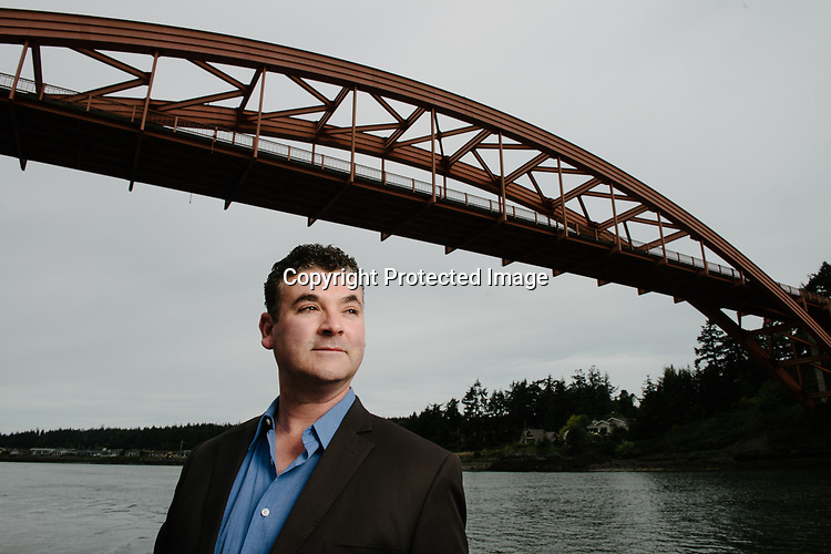 LaConner Mayor Ramon Hayes is serving his fourth term and also operates a jewelry business in the art gallery town called Trumpeter Gallery along the picturesque Swinomish Channel. Photo by Daniel Berman