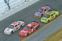 Kasey Kahne (9), Scott Riggs (36), Paul Menard (98) and Jamie McMurray (26)..7-15 February  2009, Daytona 500, Daytona International Speedway, Daytona Beach, Florida USA.©F.Peirce Williams 2009.F. Peirce Williams .photography