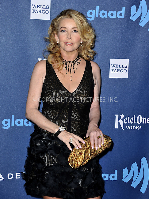 WWW.ACEPIXS.COM......April 20, 2013, Los Angeles, CA.....Melody Thomas Scott arriving at the 24th Annual GLAAD Media Awards held at the JW Marriott Los Angeles at L.A. LIVE on April 20, 2013 in Los Angeles, California. ..........By Line: Peter West/ACE Pictures....ACE Pictures, Inc..Tel: 646 769 0430..Email: info@acepixs.com