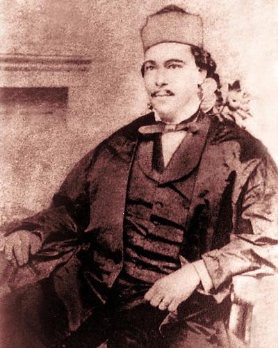 Nicolás Ureña de Mendoza (1822-1875), abuelo materno Francisco Noel, Pedro, Max y Camila Henríquez Ureña.