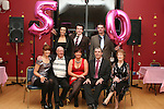 Rita Maguire with her parents Carmel and Dessie, husband John, daughters Rachel and Shauna and sons Kevin and Colin at her 50th in The Thatch...Photo NEWSFILE/Jenny Matthews.(Photo credit should read Jenny Matthews/NEWSFILE)....This Picture has been sent you under the condtions enclosed by:.Newsfile Ltd..The Studio,.Millmount Abbey,.Drogheda,.Co Meath..Ireland..Tel: +353(0)41-9871240.Fax: +353(0)41-9871260.GSM: +353(0)86-2500958.email: pictures@newsfile.ie.www.newsfile.ie.FTP: 193.120.102.198.