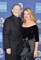 PALM SPRINGS, CA - JANUARY 03: Burt Sugarman (L) and Mary Hart attend the 30th Annual Palm Springs International Film Festival Film Awards Gala at Palm Springs Convention Center on January 3, 2019 in Palm Springs, California.<br /> CAP/ROT/TM<br /> ©TM/ROT/Capital Pictures