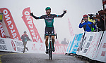 Felix Großschartner (AUT) Bora-Hansgrohe wins Stage 5 of the 2019 Presidential Cycling Tour of Turkey running 164.1km from Bursa to Kartepe, Turkey. 20th April 2019.<br /> Picture: Yucelcakiroglu | Cyclefile<br /> <br /> All photos usage must carry mandatory copyright credit (© Cyclefile | Yucelcakiroglu)