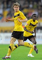Fussball, 2. Bundesliga, Saison 2011/12, SG Dynamo Dresden - Vfl Bochum, Montag (12.09.11), gluecksgas Stadion, Dresden. Dresdens Florian Jungwirth.