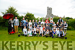 Reinacting the Crobie Family Ardfert  on Wednesday were pupils and tecahers of Ardfert NS.
