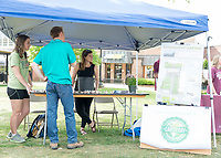 Earth Day Fair Tents<br />  (photo by Robert Lewis / &copy; Mississippi State University)