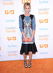 Westwood , California - October 28 :  Julie Bowen <br />  arrives at The USA Network's Modern Family Fan Appreciation Day held at Westwood Village Theatres in Westwood, California on October 28,2012                                                                               &copy; 2013 Hollywood Press Agency