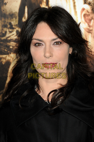 "MICHELLE FORBES.HBO's ""The Pacific"" Mini-Series Premiere held at Grauman's Chinese Theatre, Hollywood, California, USA..February 24th, 2010.headshot portrait black red lipstick make-up .CAP/ADM/BP.©Byron Purvis/AdMedia/Capital Pictures."
