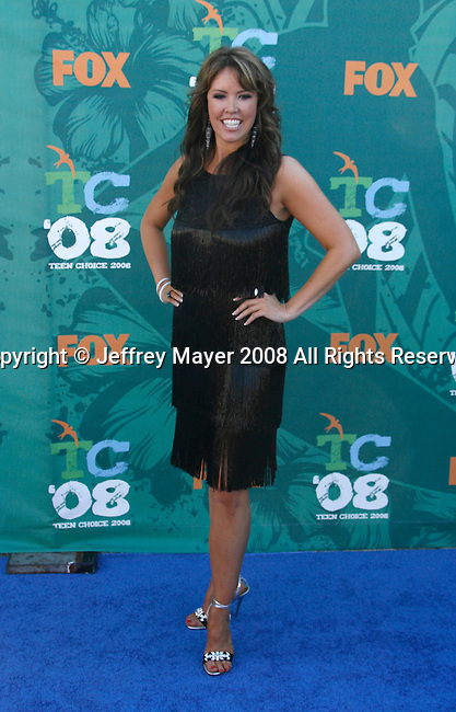 TV Personality Mary Murphy arrives at the 2008 Teen Choice Awards at the Gibson Amphitheater on August 3, 2008 in Universal City, California.