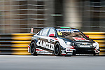Gianni Morbidelli races the FIA WTCC during the 61st Macau Grand Prix on November 14, 2014 at Macau street circuit in Macau, China. Photo by Aitor Alcalde / Power Sport Images