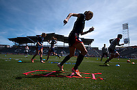 USWNT Training, Saturday, April 5, 2014
