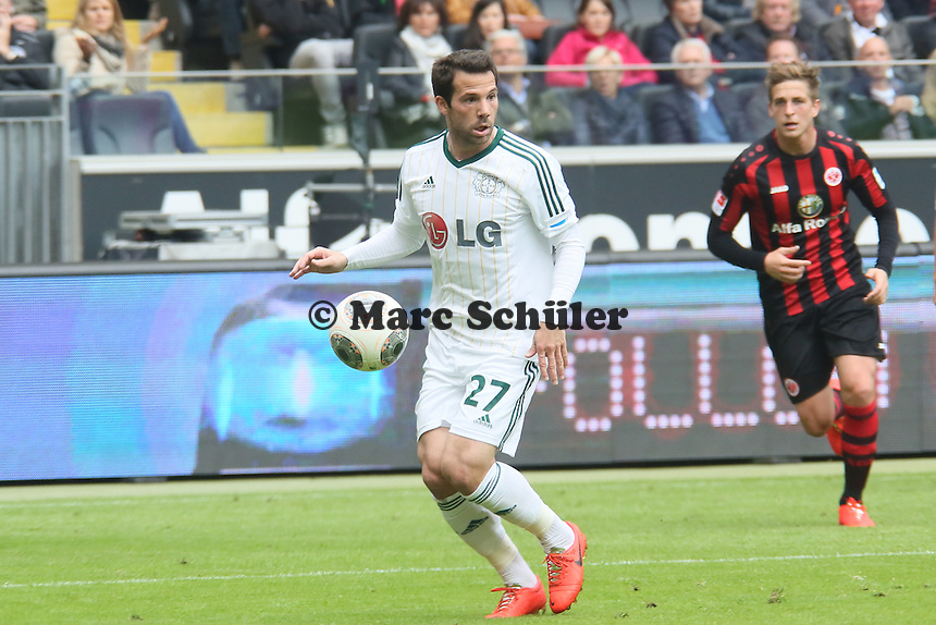 Simon Rolfes (Bayer) - Eintracht Frankfurt vs. Bayer Leverkusen, Commerzbank Arena
