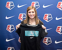 Kassey Kallman. The NWSL draft was held at the Pennsylvania Convention Center in Philadelphia, PA, on January 17, 2014.