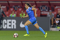 Bridgeview, IL - Wednesday August 16, 2017: Sofia Huerta during a regular season National Women's Soccer League (NWSL) match between the Chicago Red Stars and the Seattle Reign FC at Toyota Park.
