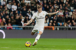 Real Madrid's Toni Kroos during La Liga match between Real Madrid and Real Sociedad at Santiago Bernabeu Stadium in Madrid, Spain. January 06, 2019. (ALTERPHOTOS/A. Perez Meca)<br />  (ALTERPHOTOS/A. Perez Meca)