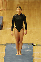 15 January 2006: Nicole Ourada during Stanford's gymnastics meet at Maples Pavilion in Stanford, CA.